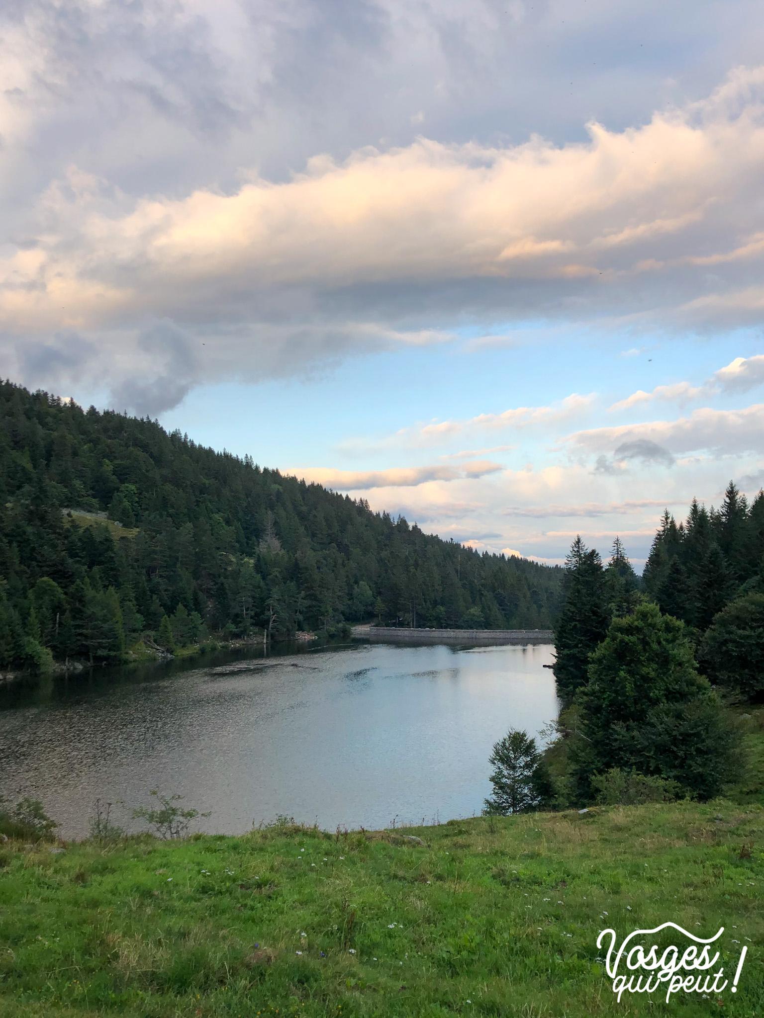 Le lac du Forlet dans les Vosges