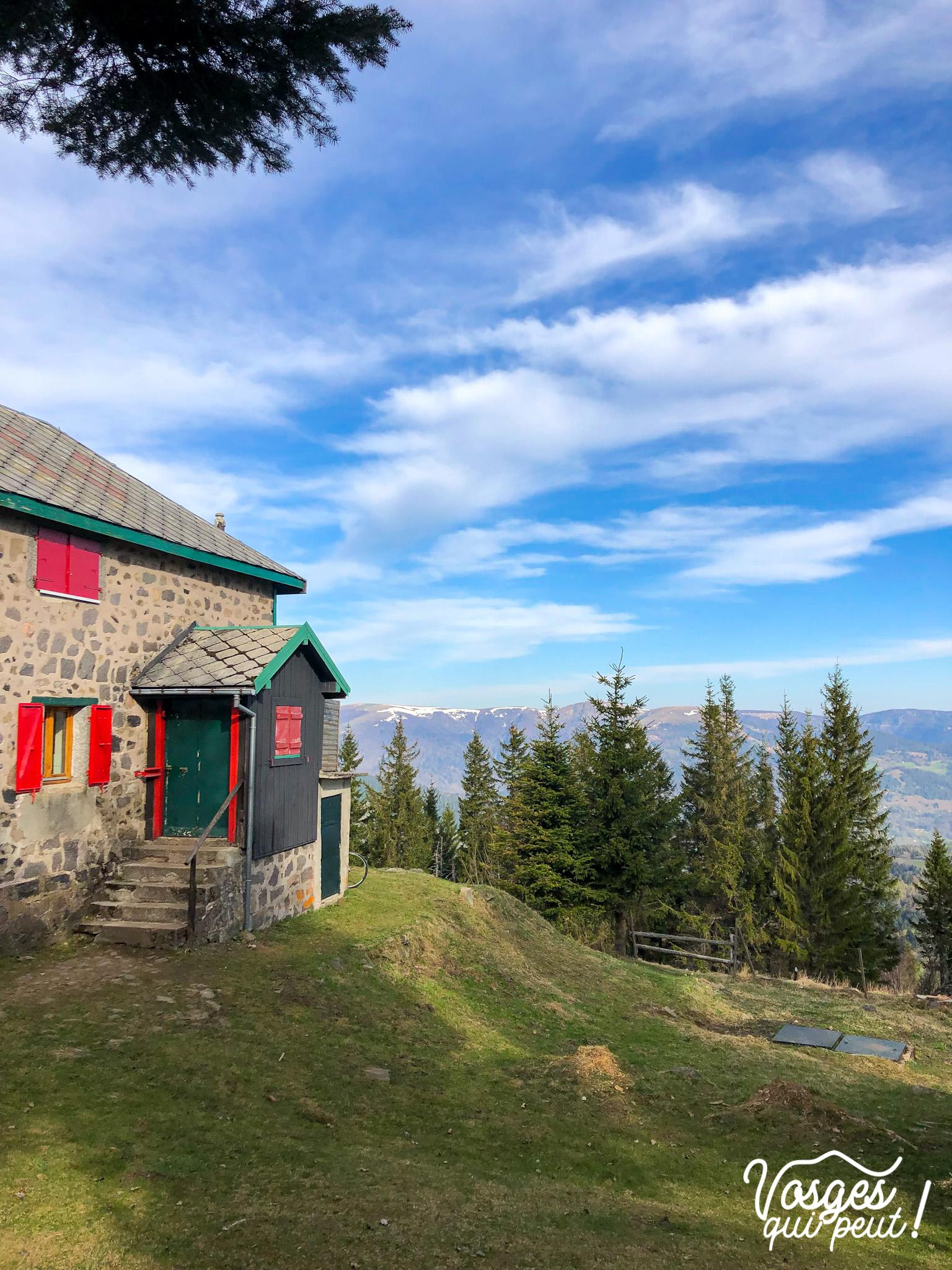 Le refuge du Bockwasen dans le Massif des Vosges