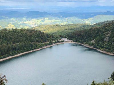 Vue du Lac Blanc dans les Vosges
