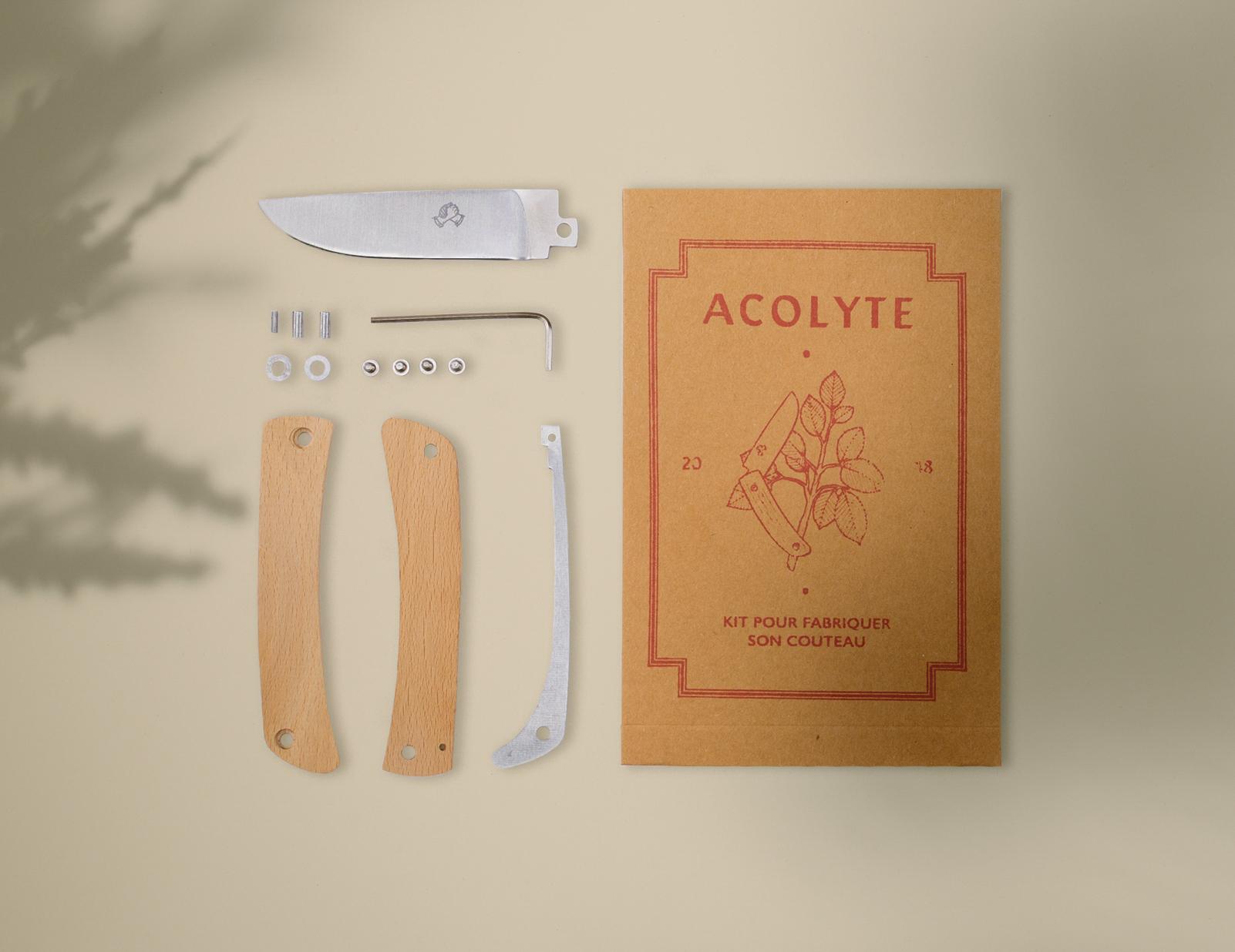 kit couteau acolyte à fabriquer soi même