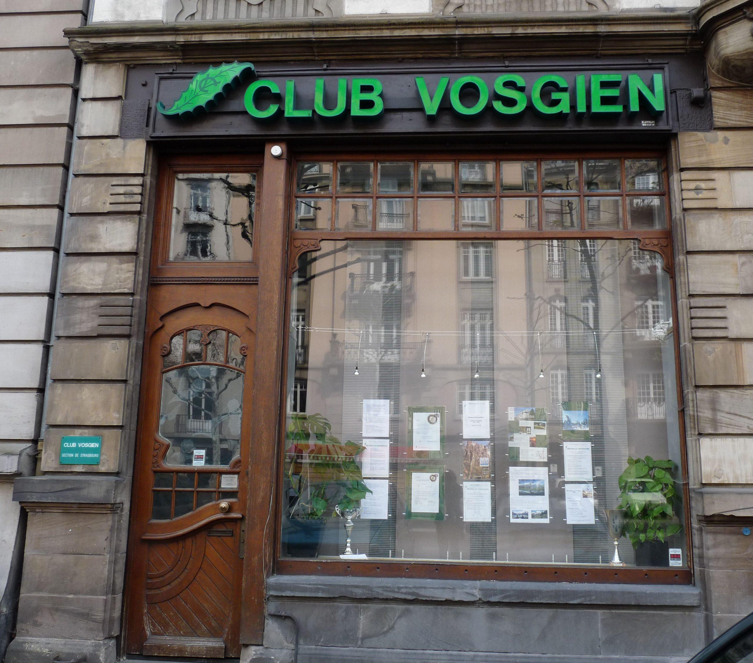 Le siège du Club vosgien à Strasbourg