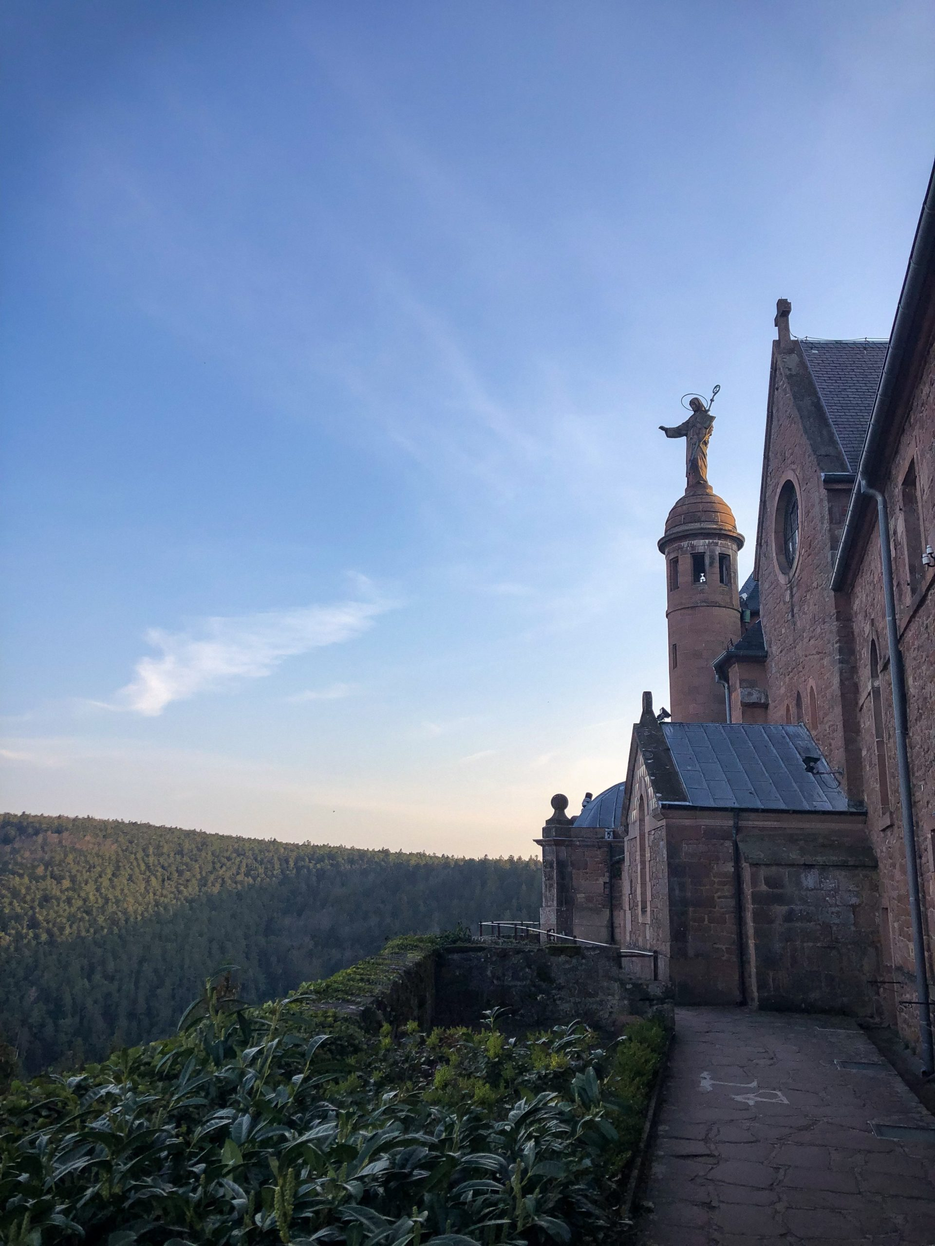 Le couvent de Sainte Odile en Alsace