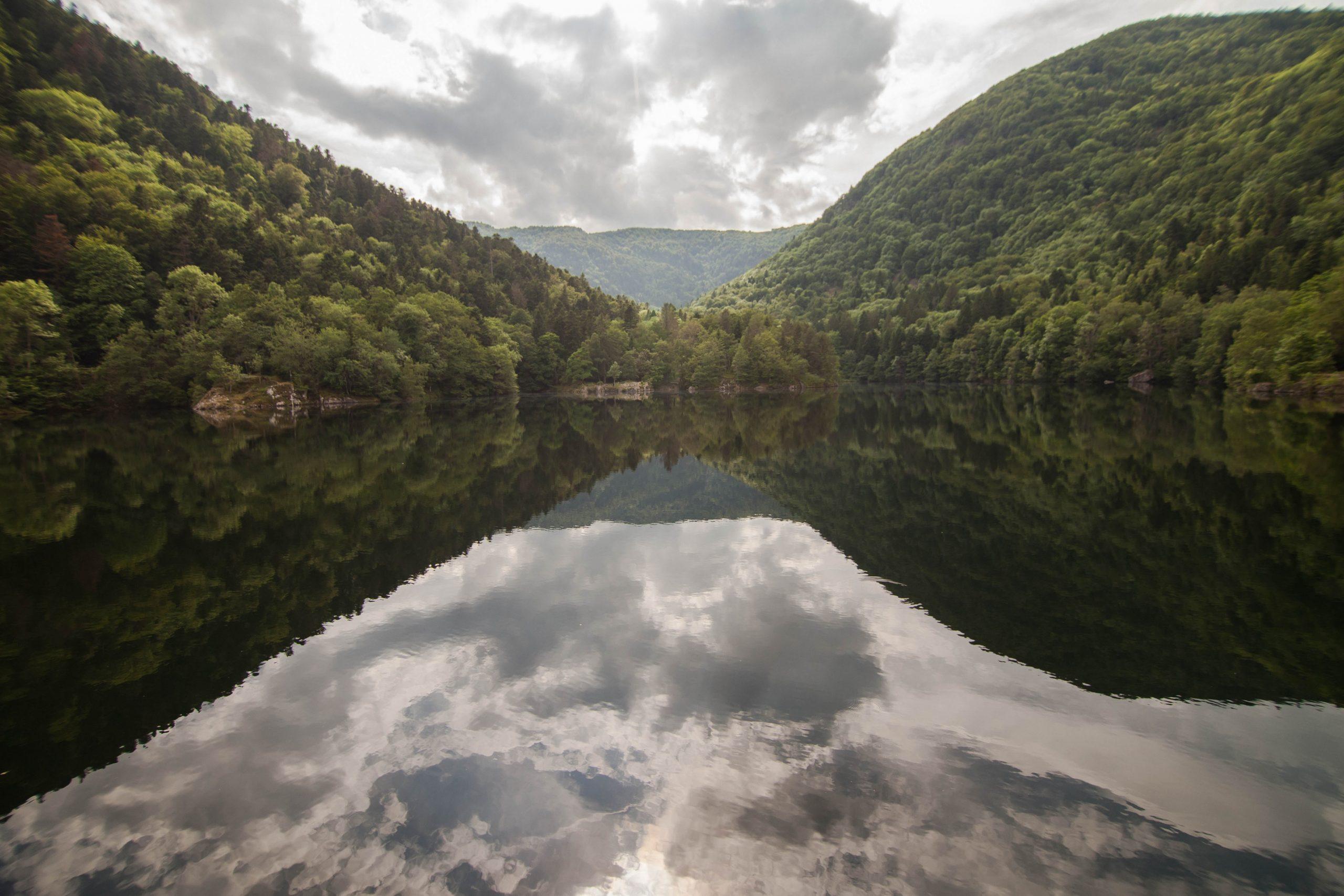 Le lac d'Alfeld dans les Vosges