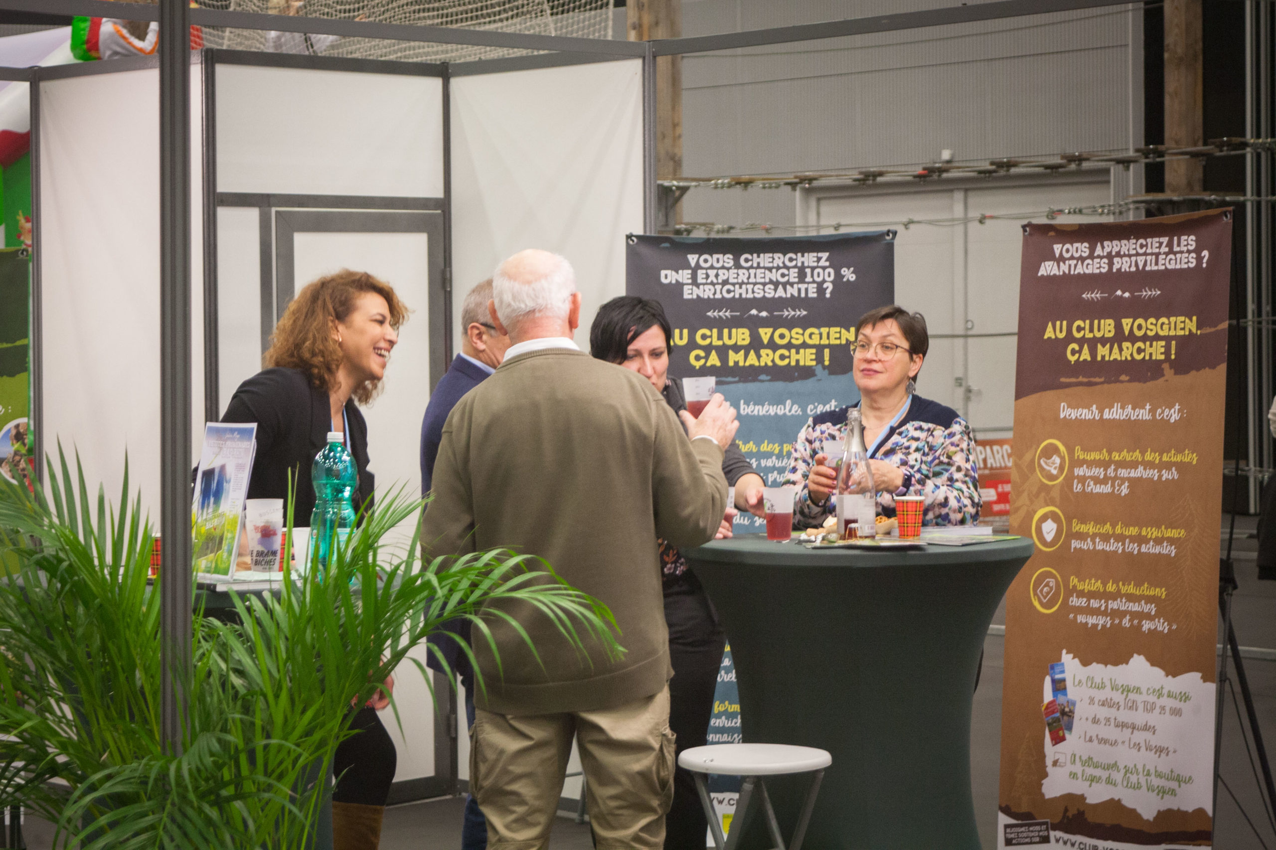 Le Club Vosgien au salon Tourissimo