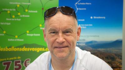 Laurent Cahon, président de l'association Séjours Rando Nature dans les Vosges