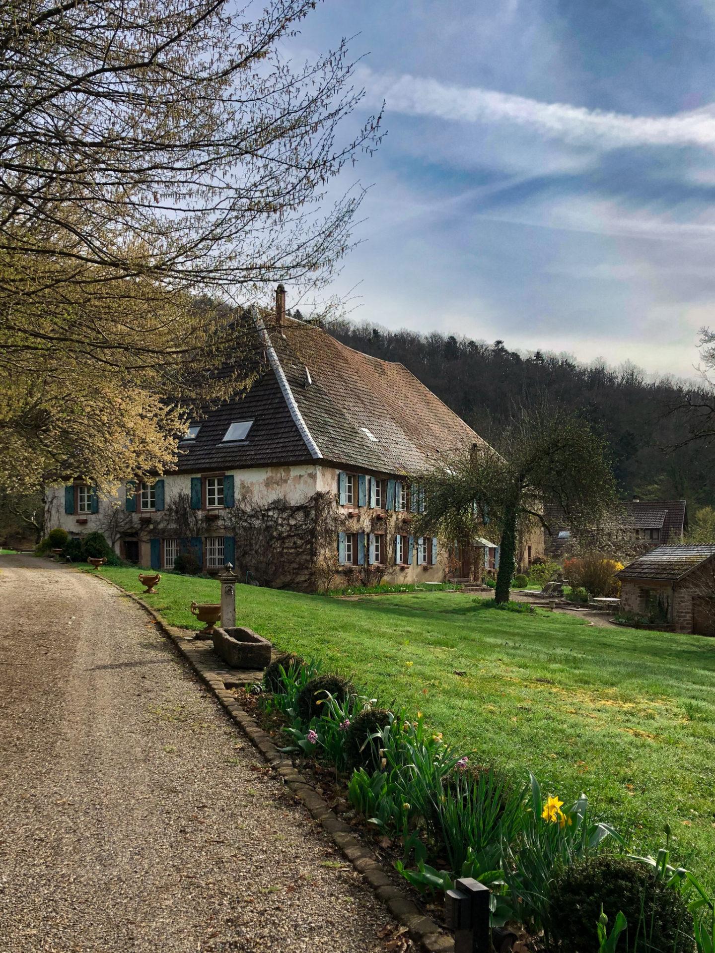 Une chambre d'hôtes en Alsace, dans le Massif des Vosges