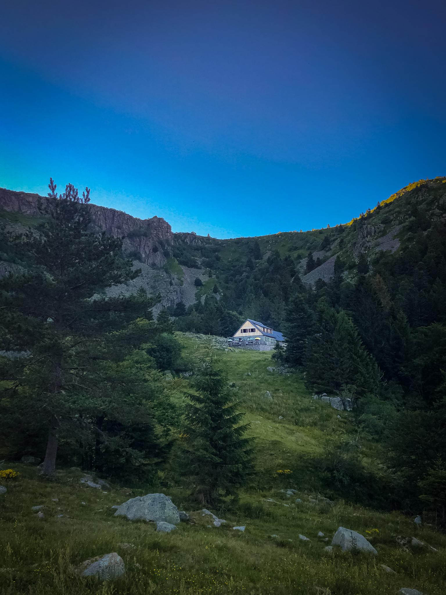 Le ferme-auberge du Forlet dans le Massif des Vosges