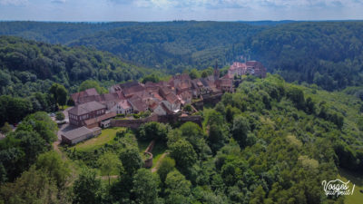 La vieille ville de la Petite Pierre dans les Vosges en Alsace