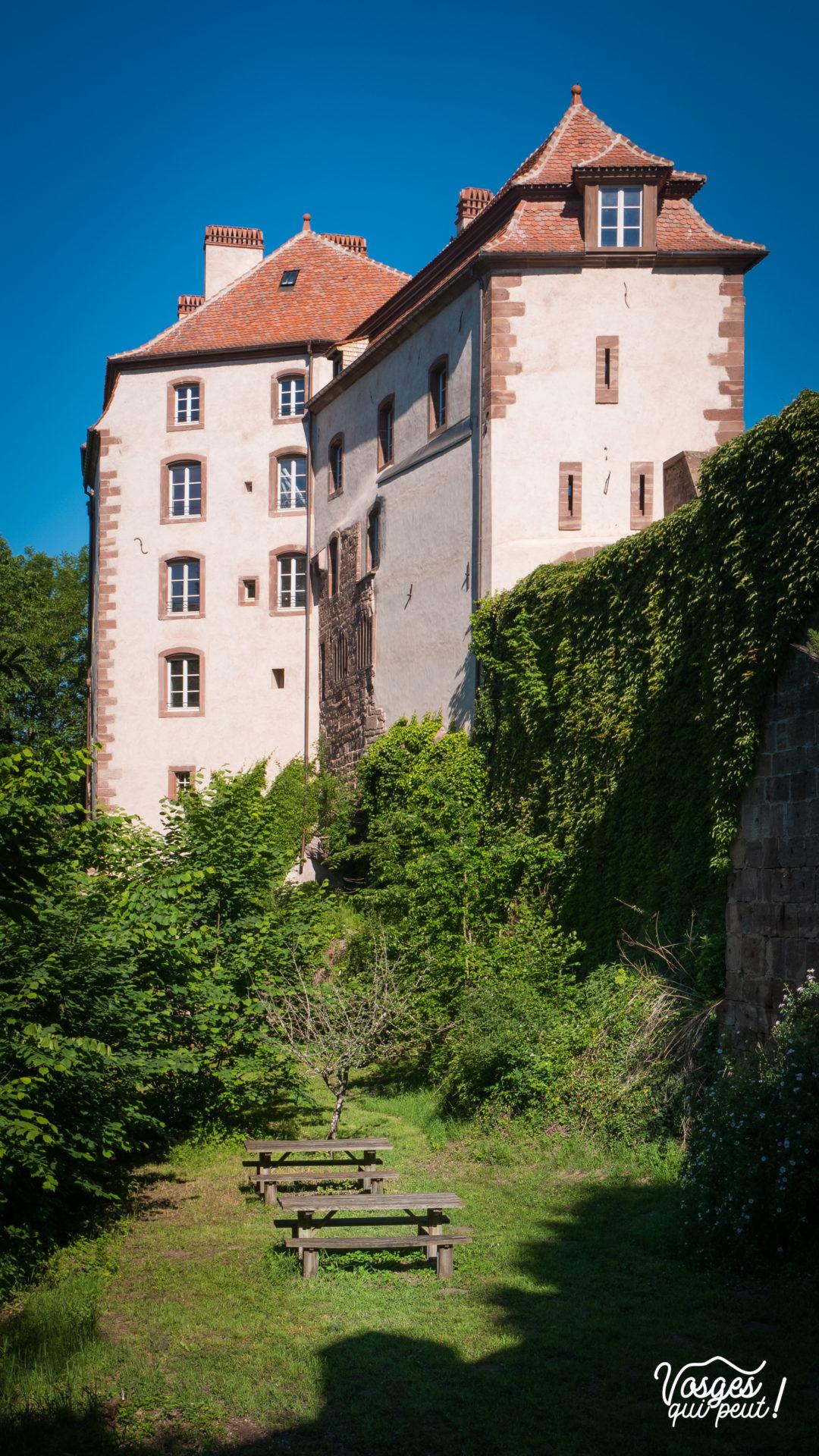 Mur oriental du château de La Petite Pierre