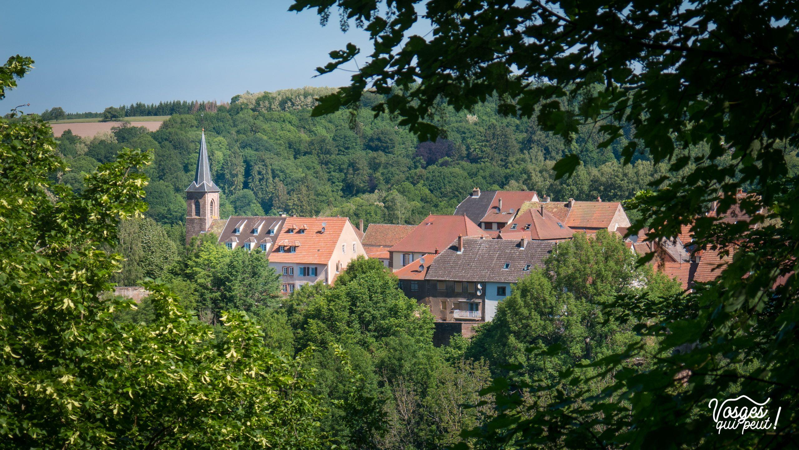 La ville fortifiée de La Petite Pierre dans les Vosges du Nord