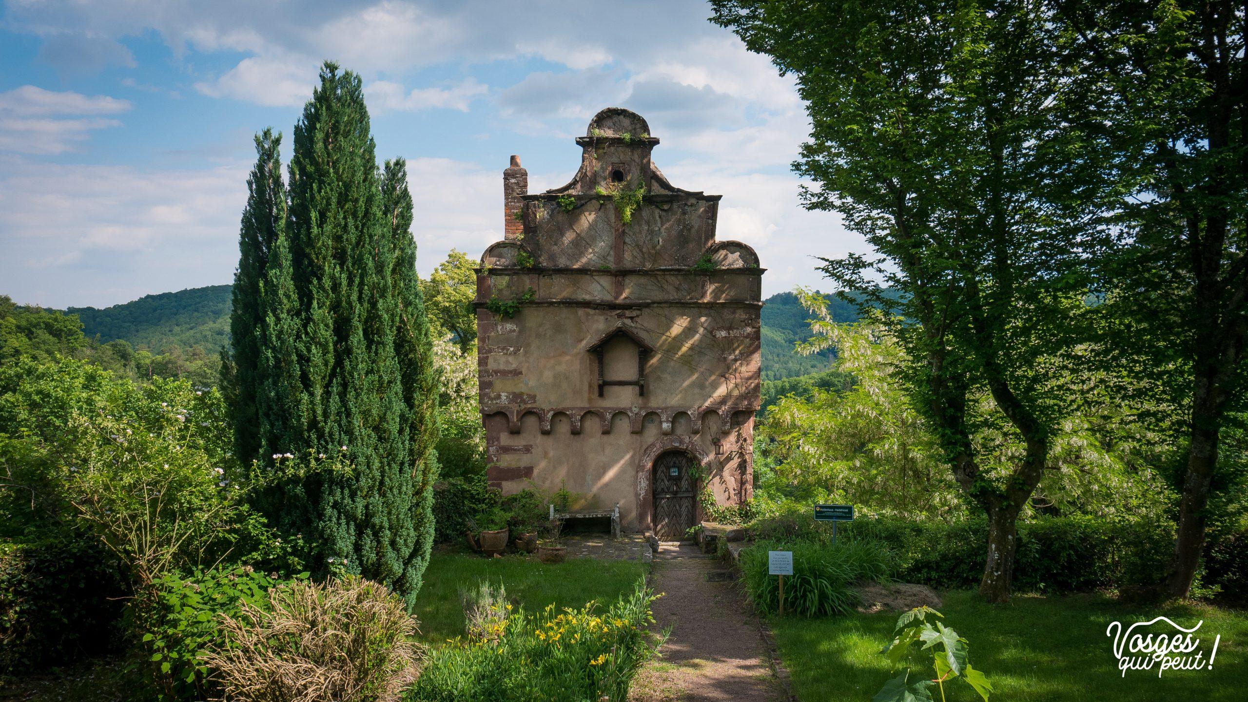 La Maison des Païens dans la ville de La Petite Pierre en Alsace