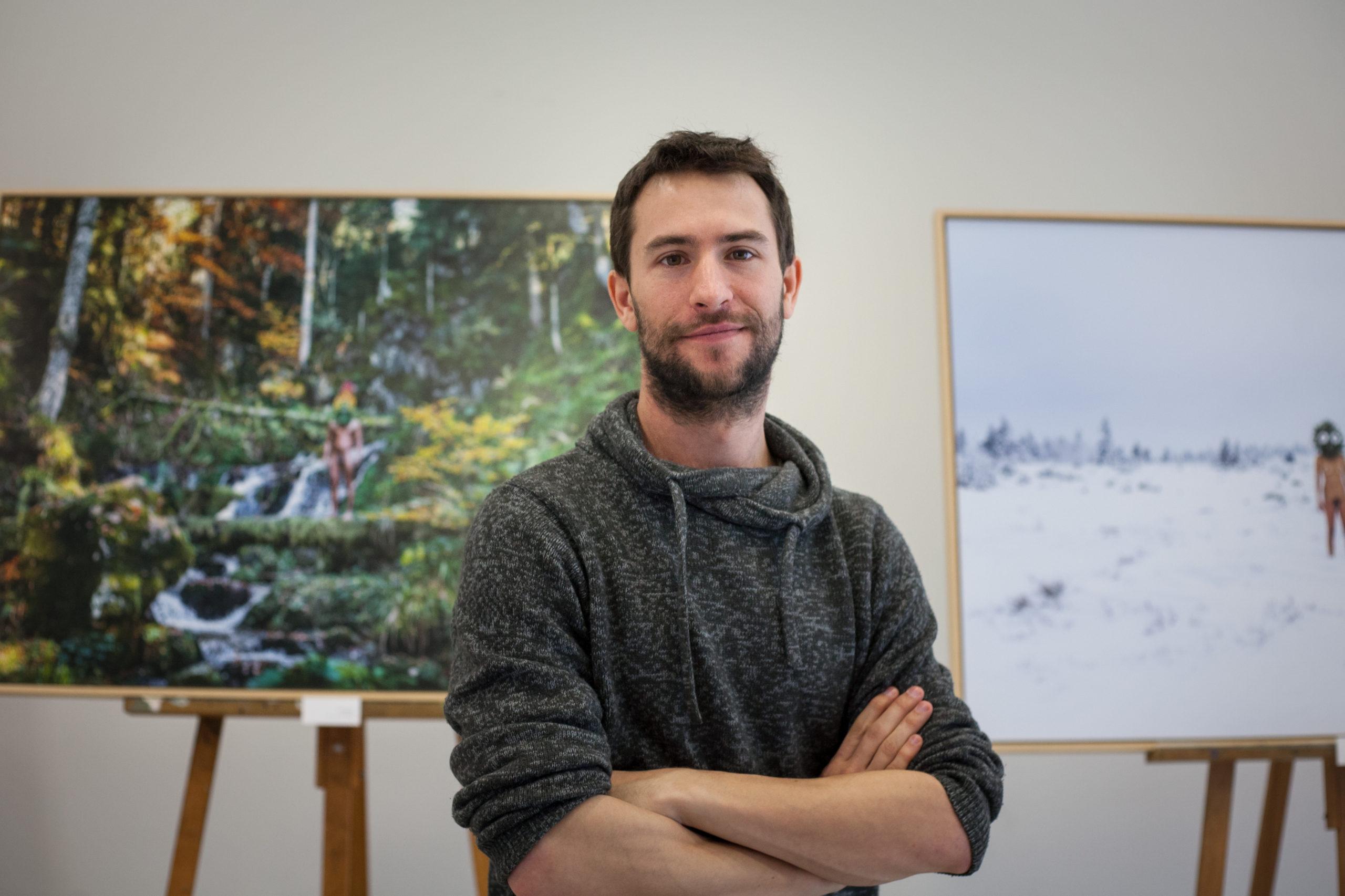 Hugo Mairelle, artiste plasticien engagé pour la préservation et la défense de la biodiversité en Alsace et dans les Vosges