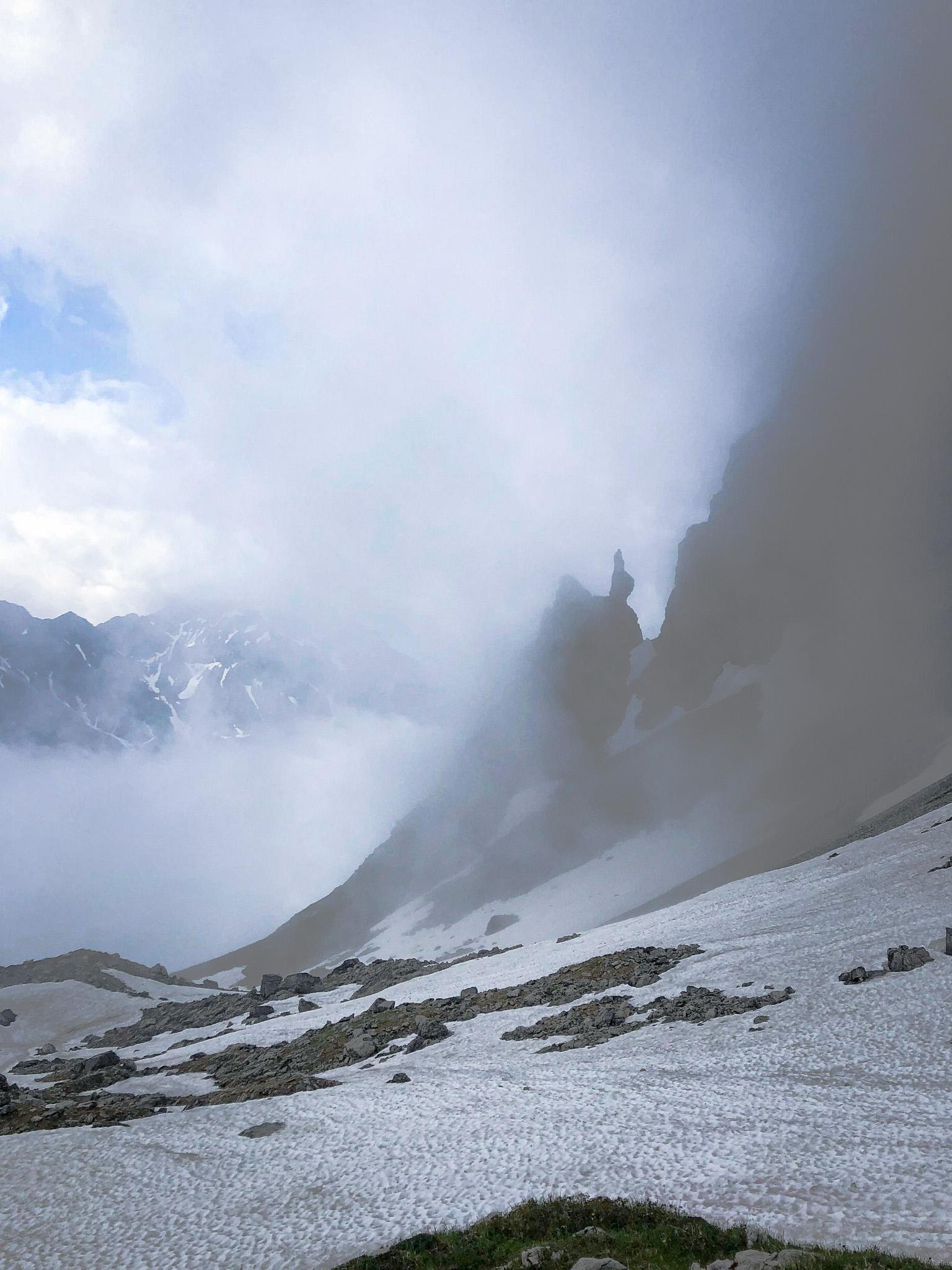 Les montagnes des Alpes d'Allgäu