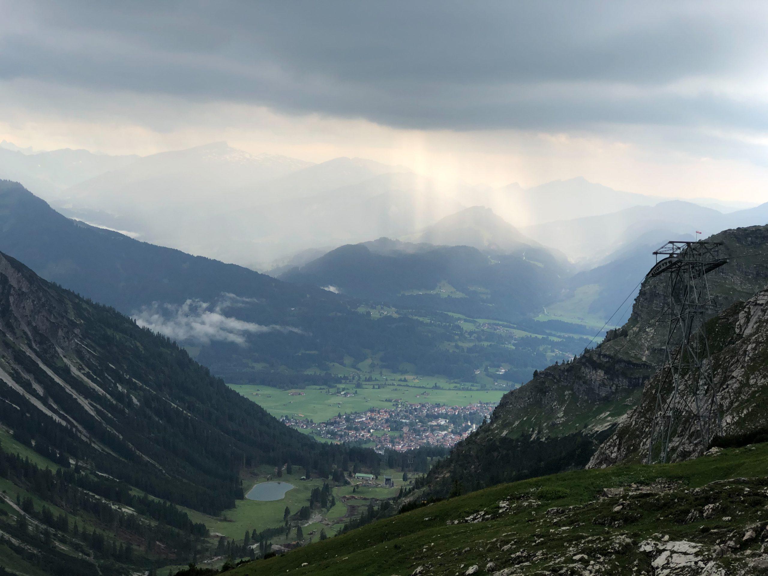 Le village d'Oberstdorf est le village le plus méridional d'Allemagne, situé en Bavière du sud