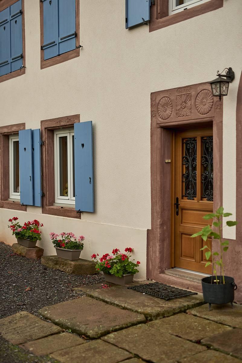 Maison typique dans la vallée de la Bruche