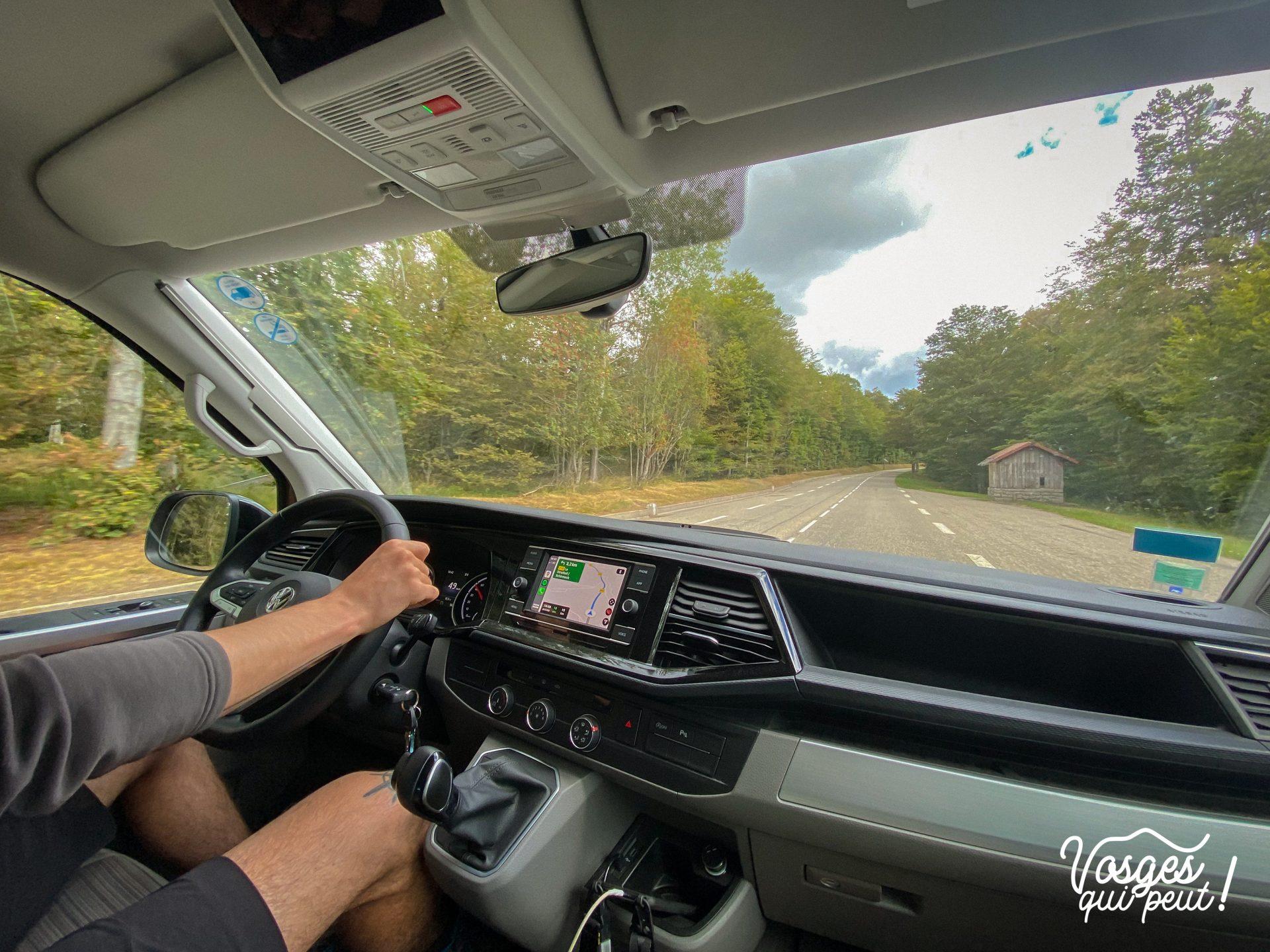 Intérieur d'un Campervan Volkswagen de WeVan