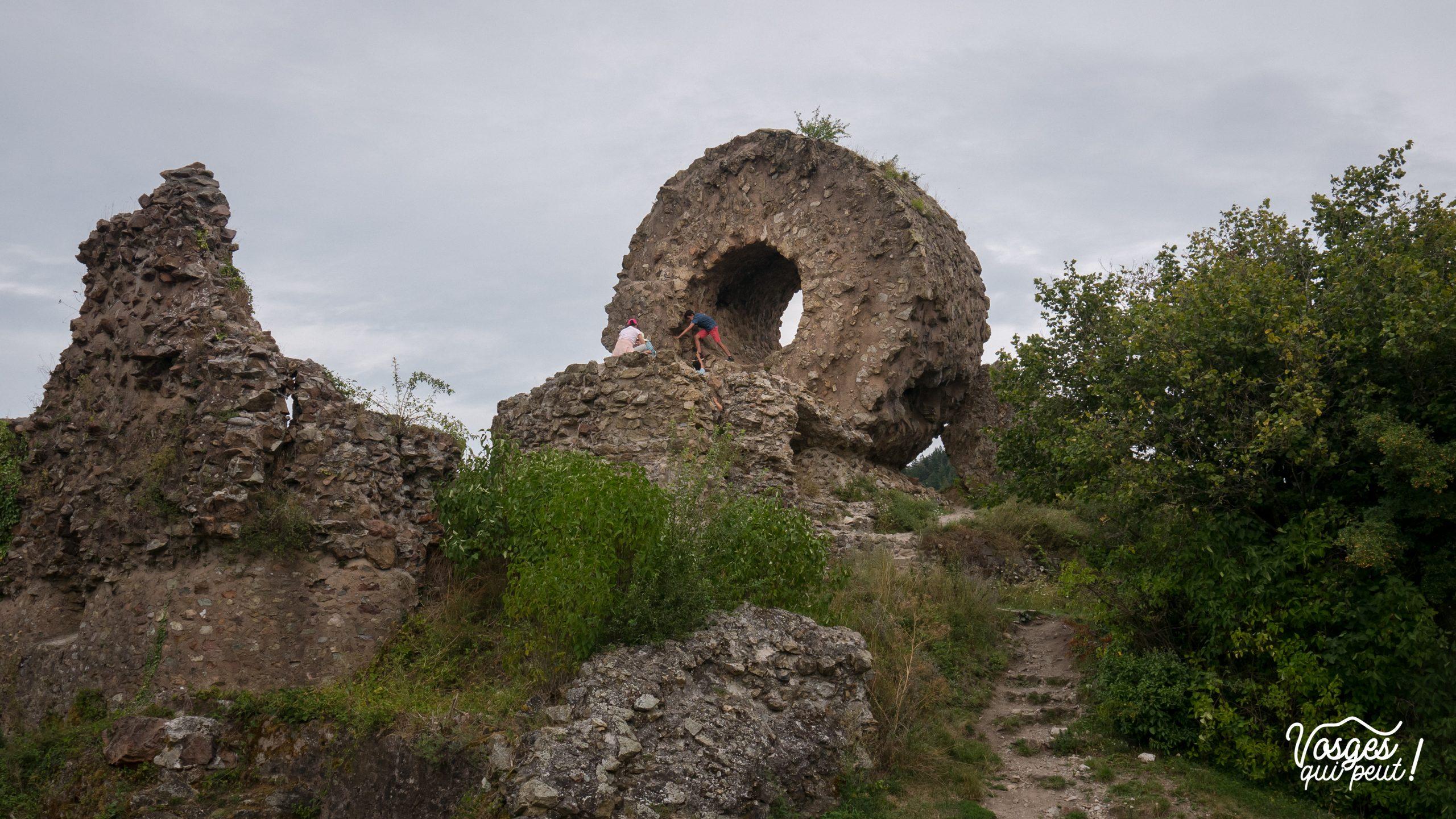 Le château de l'Engelbourg à Thann