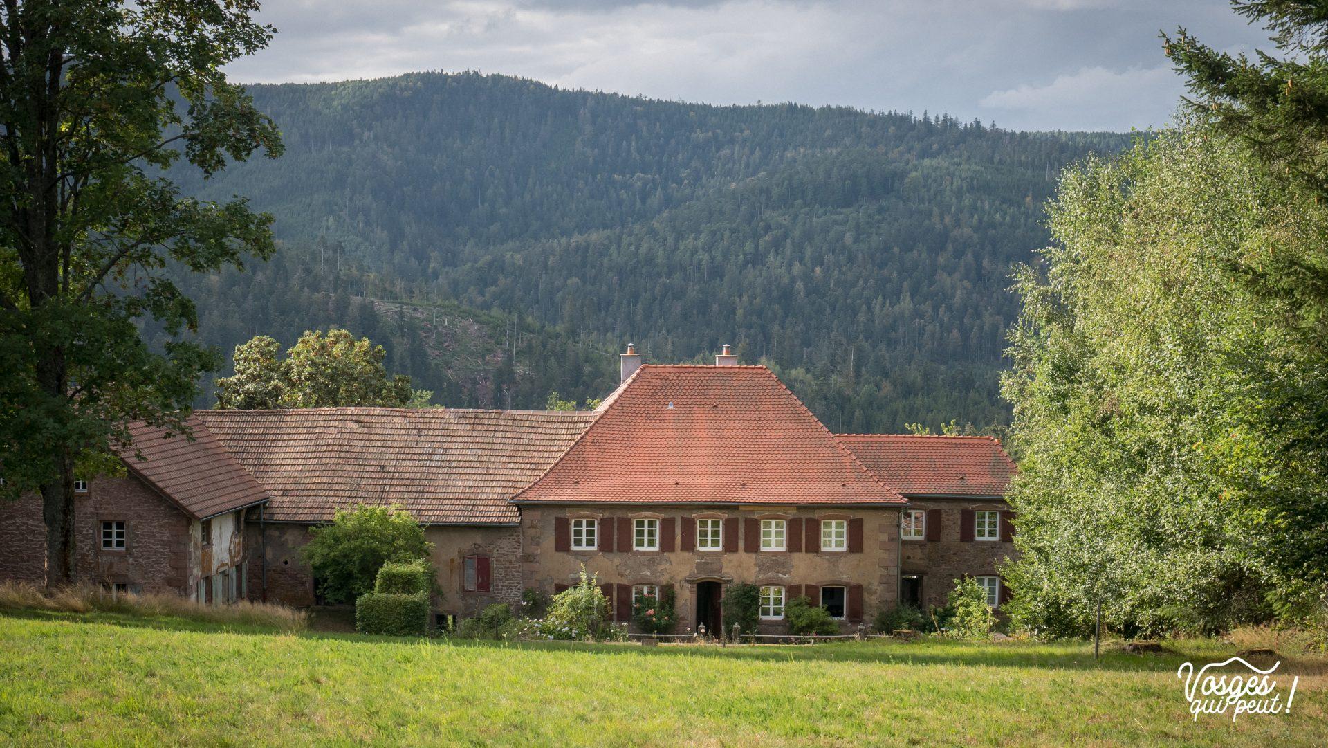 La ferme Kupferschmit à Salm dans la vallée de la Bruche