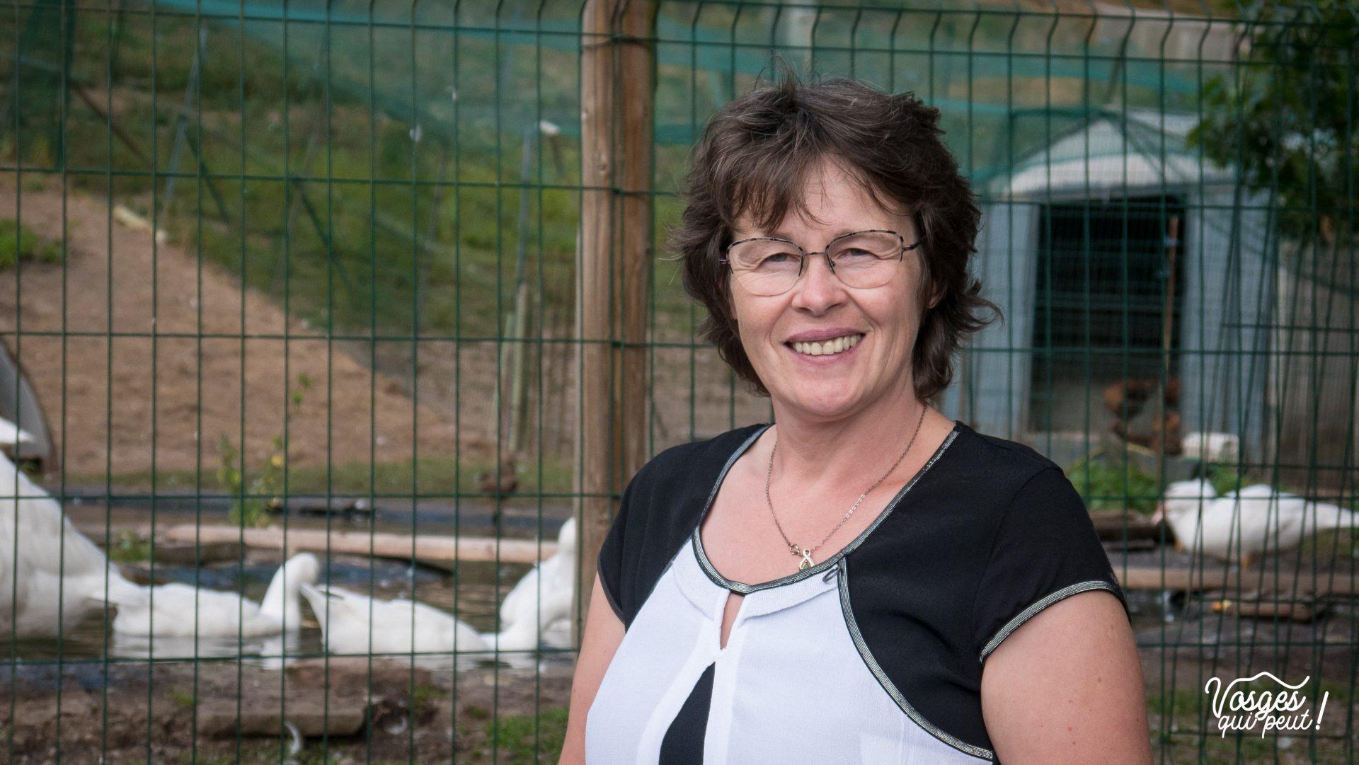 Colette Baecher, à la tête de la ferme-auberge du Charapont dans la vallée de la Bruche