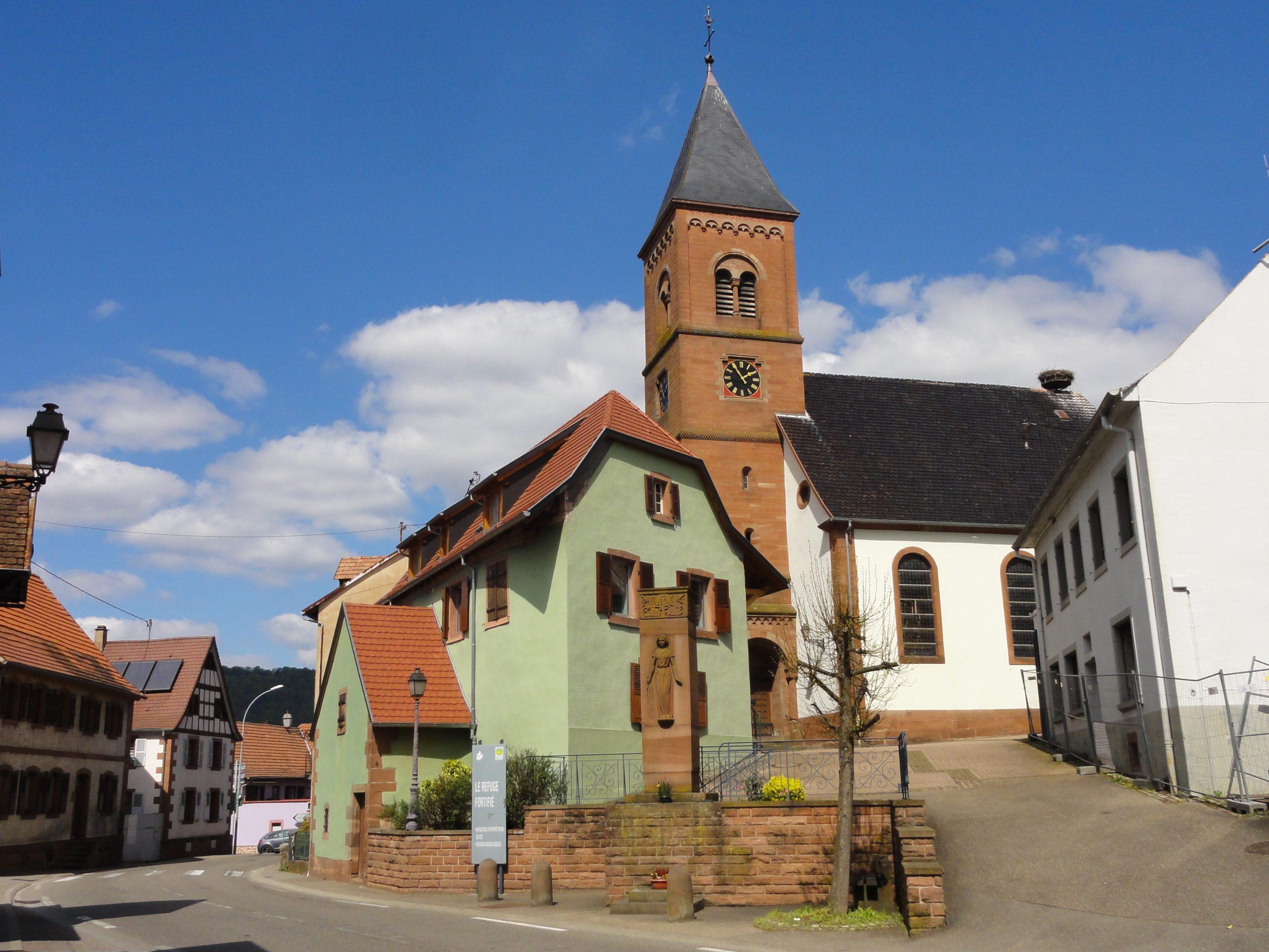 L'église simultanée de Dossenheim-sur-Zinsel