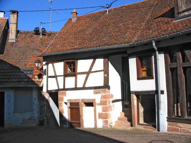 L'un des celliers du refuge fortifié de Dossenheim-sur-Zinsel