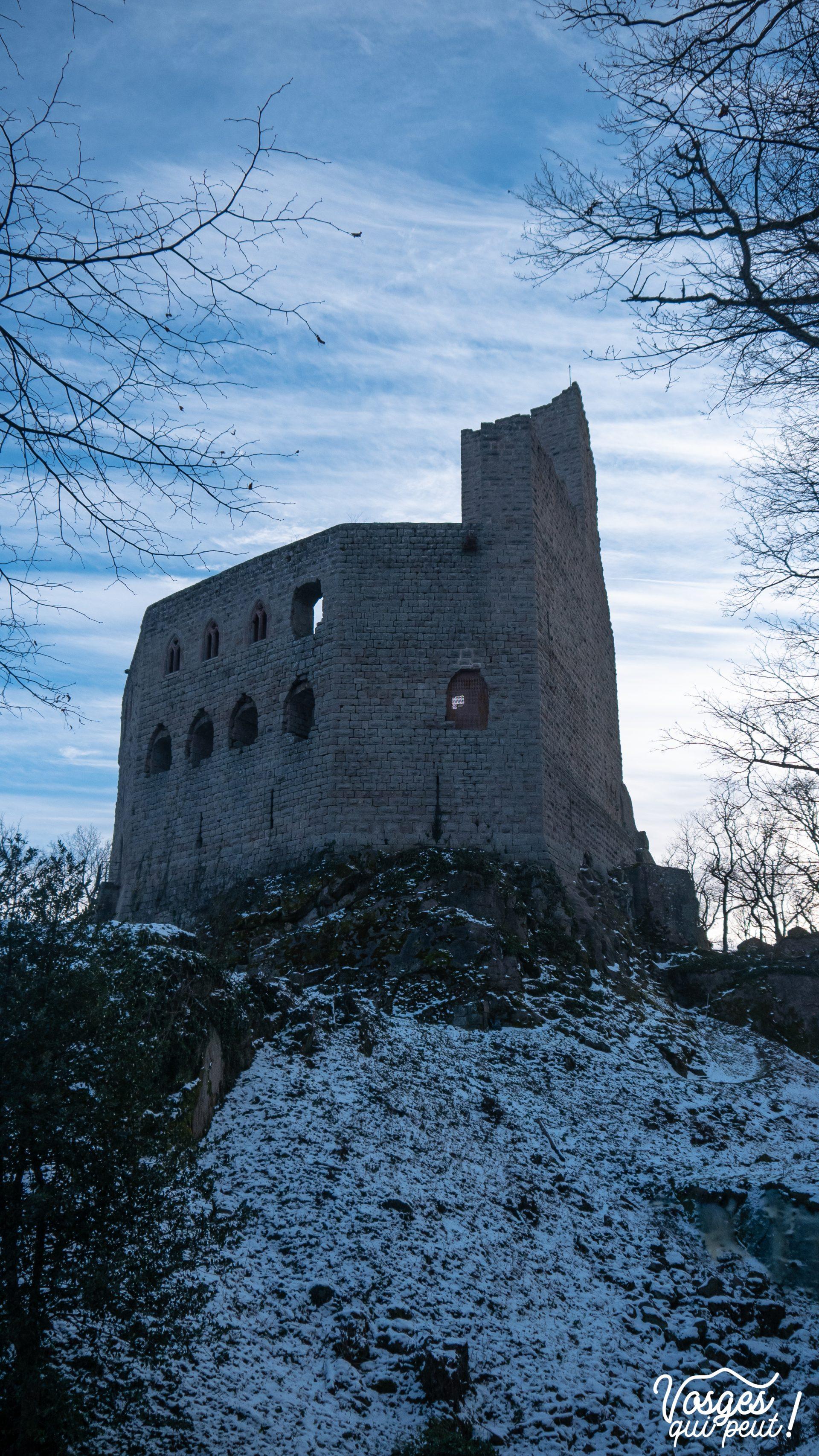 Le château du Spesbourg dans les Vosges
