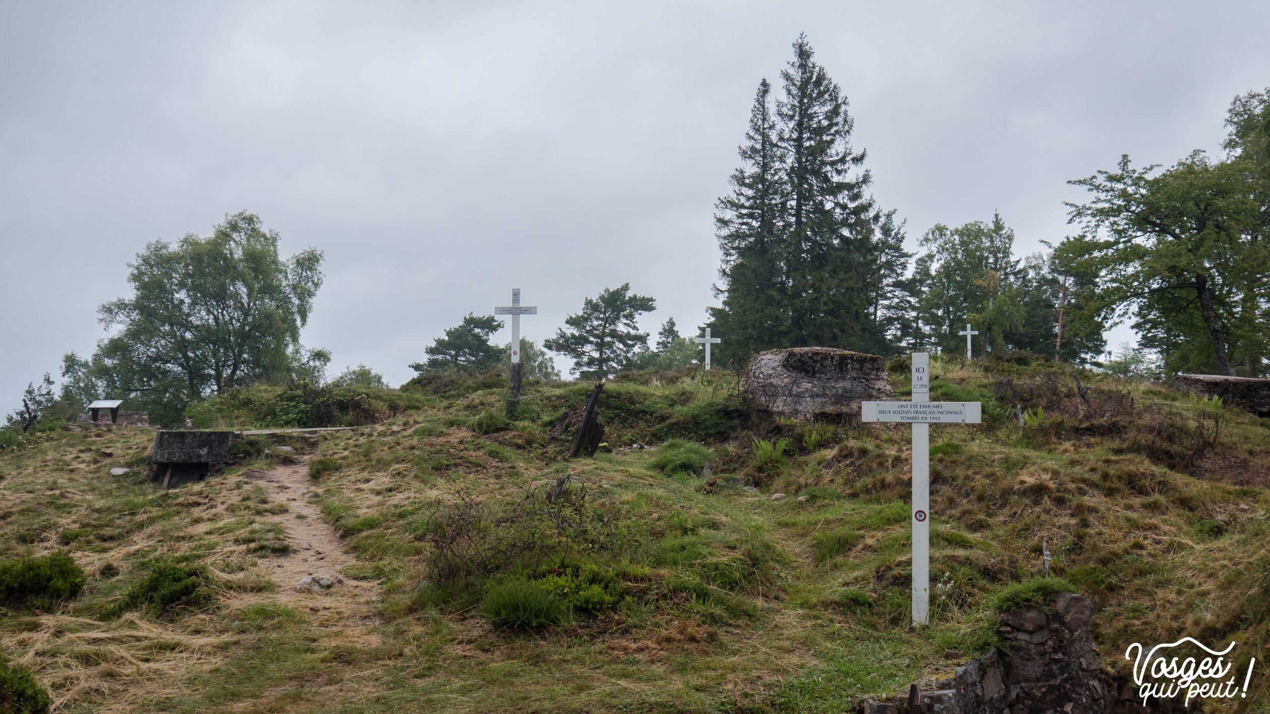 Le champ de bataille du Linge dans les Vosges