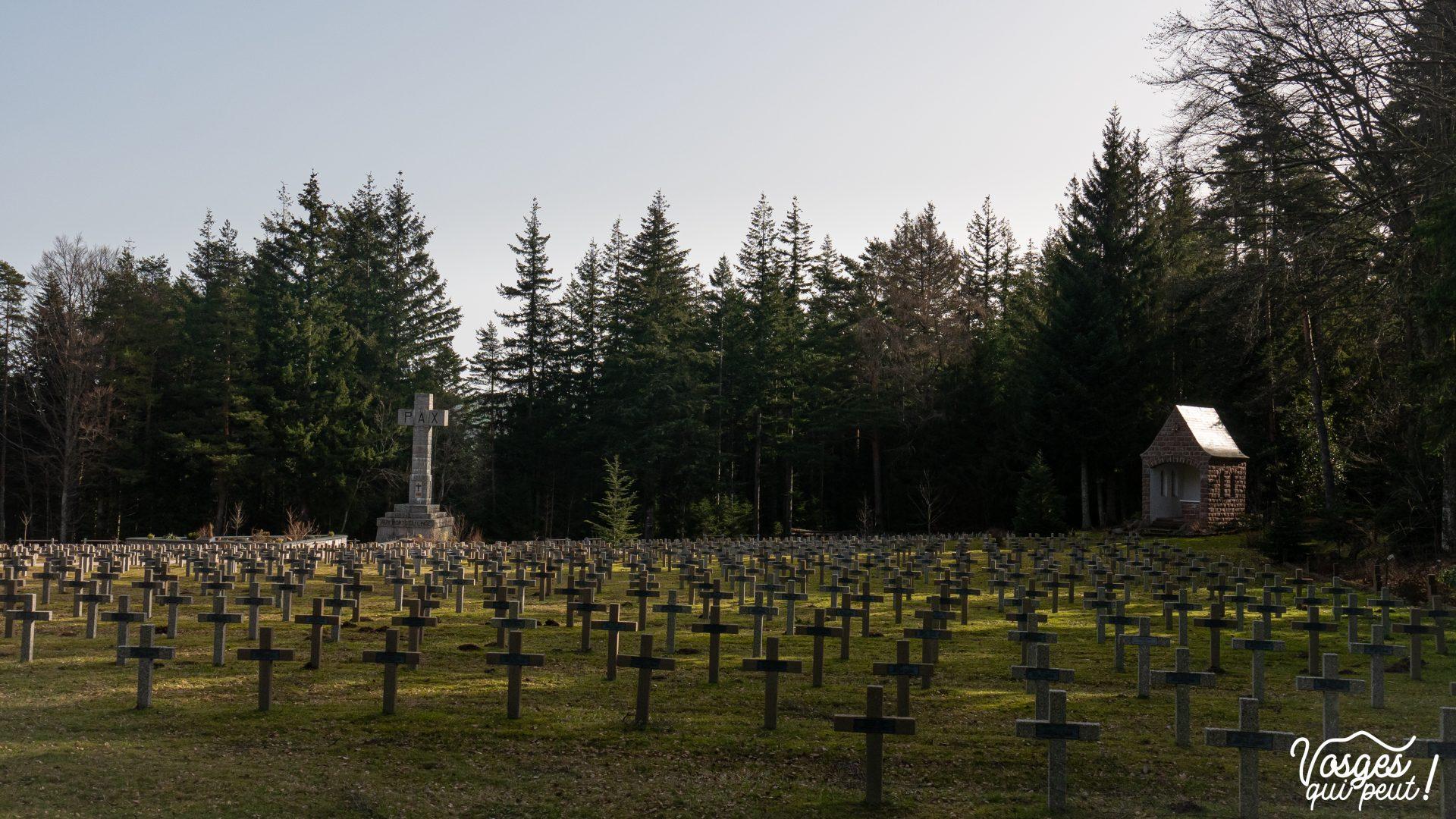 Le cimetière militaire français du Wettstein