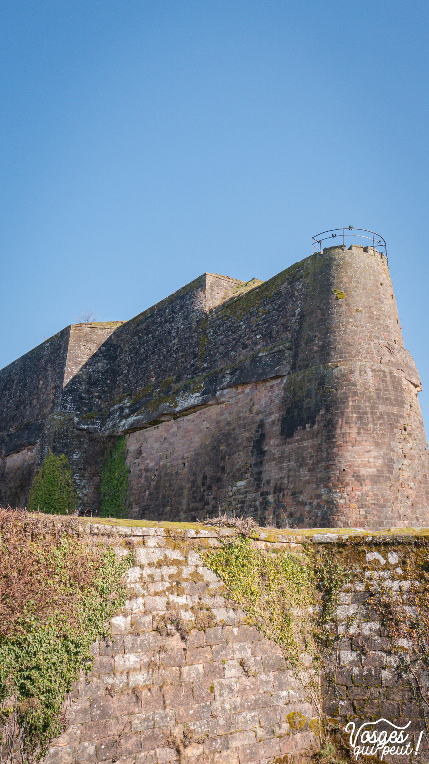 Rempart de la Citadelle de Bitche