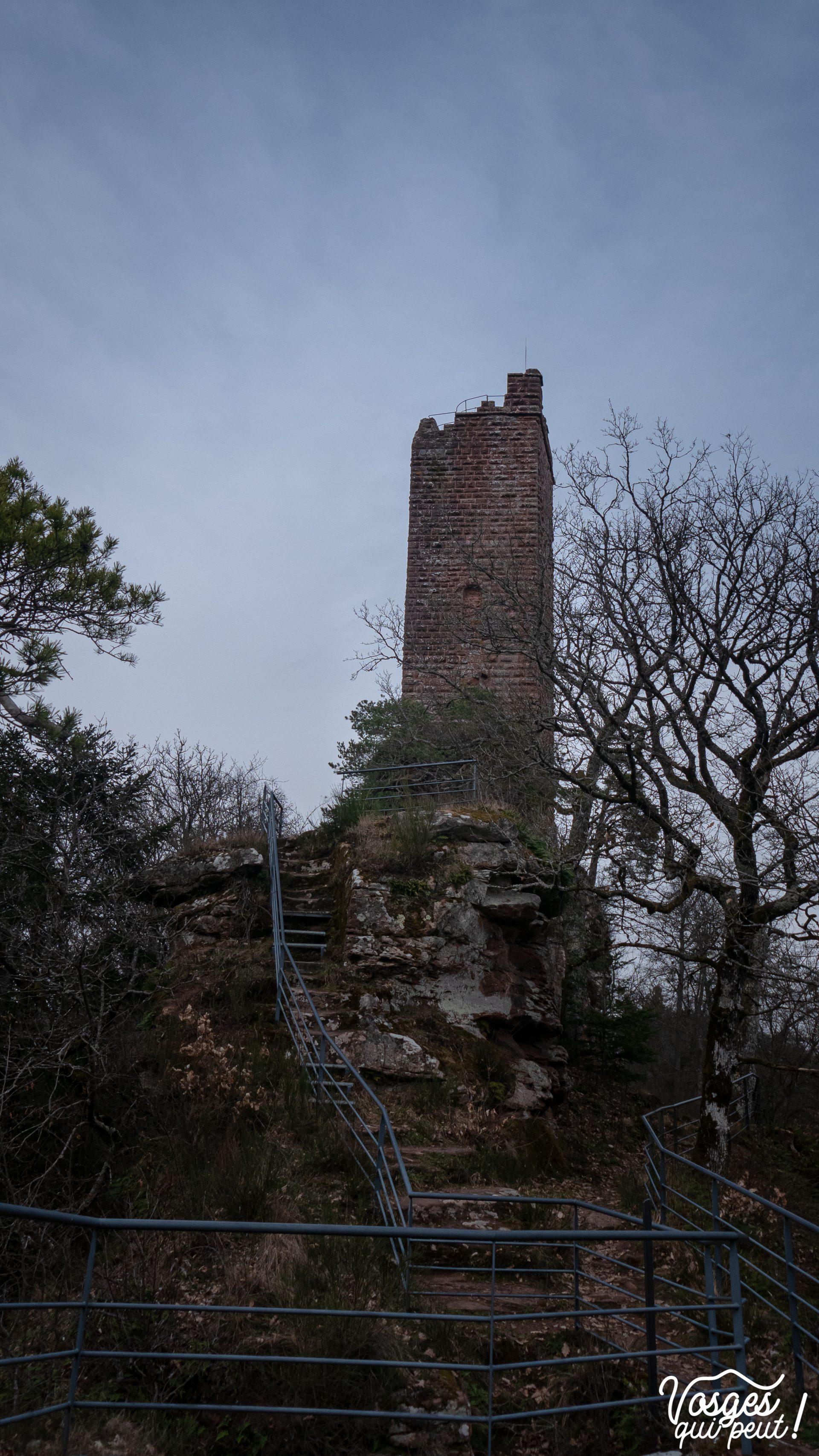 Donjon du château de Waldeck