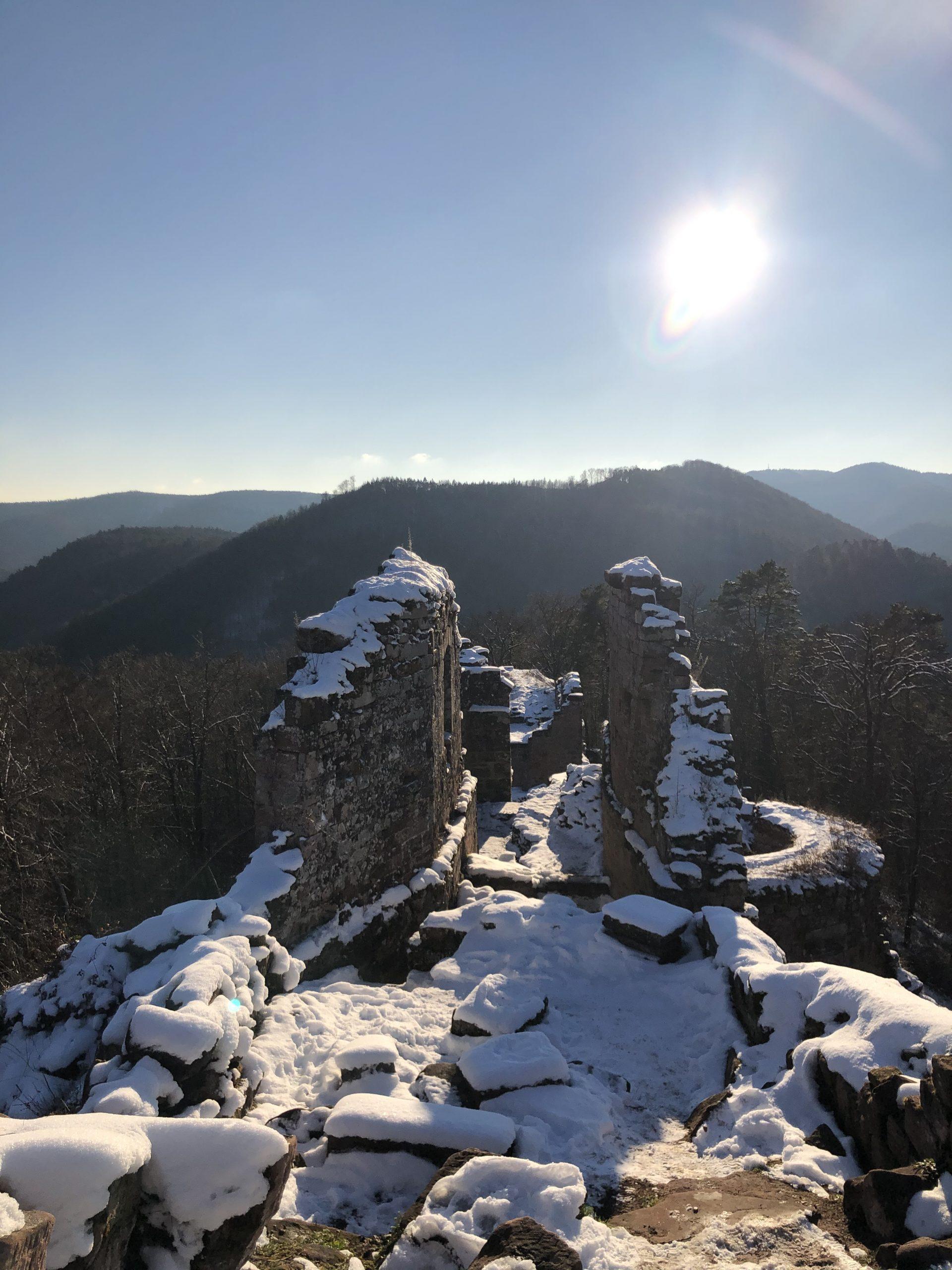 Schoeneck - - Randonnée 5 châteaux