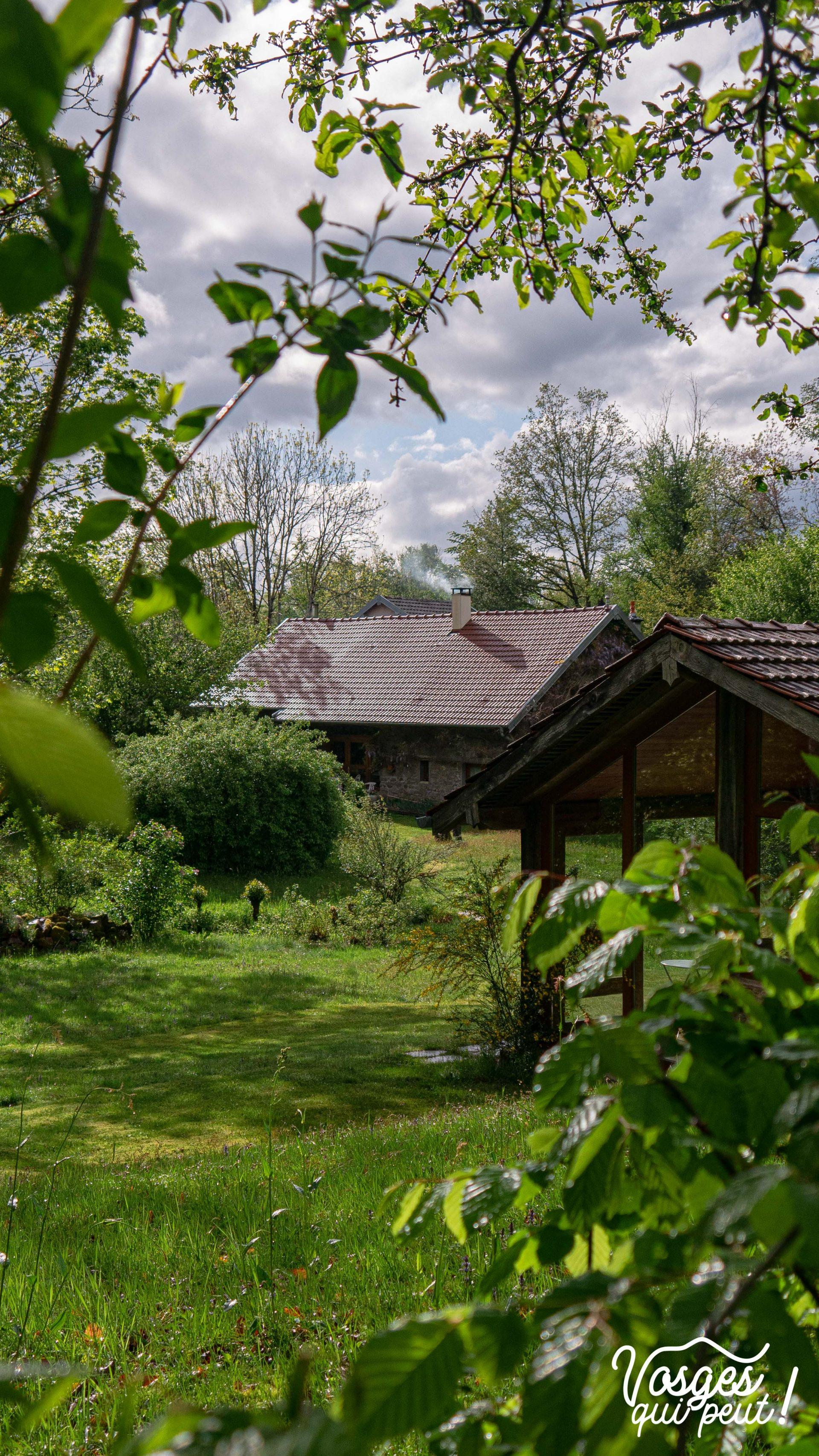 Maison traditionnelle au plateau des mille étangs