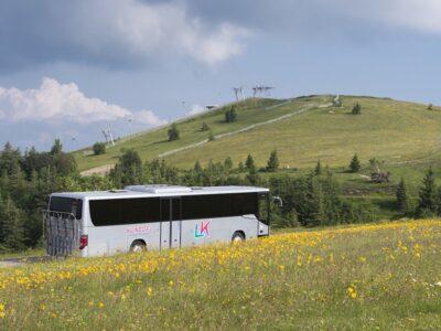 La navette des crêtes au Markstein dans le Massif des Vosges