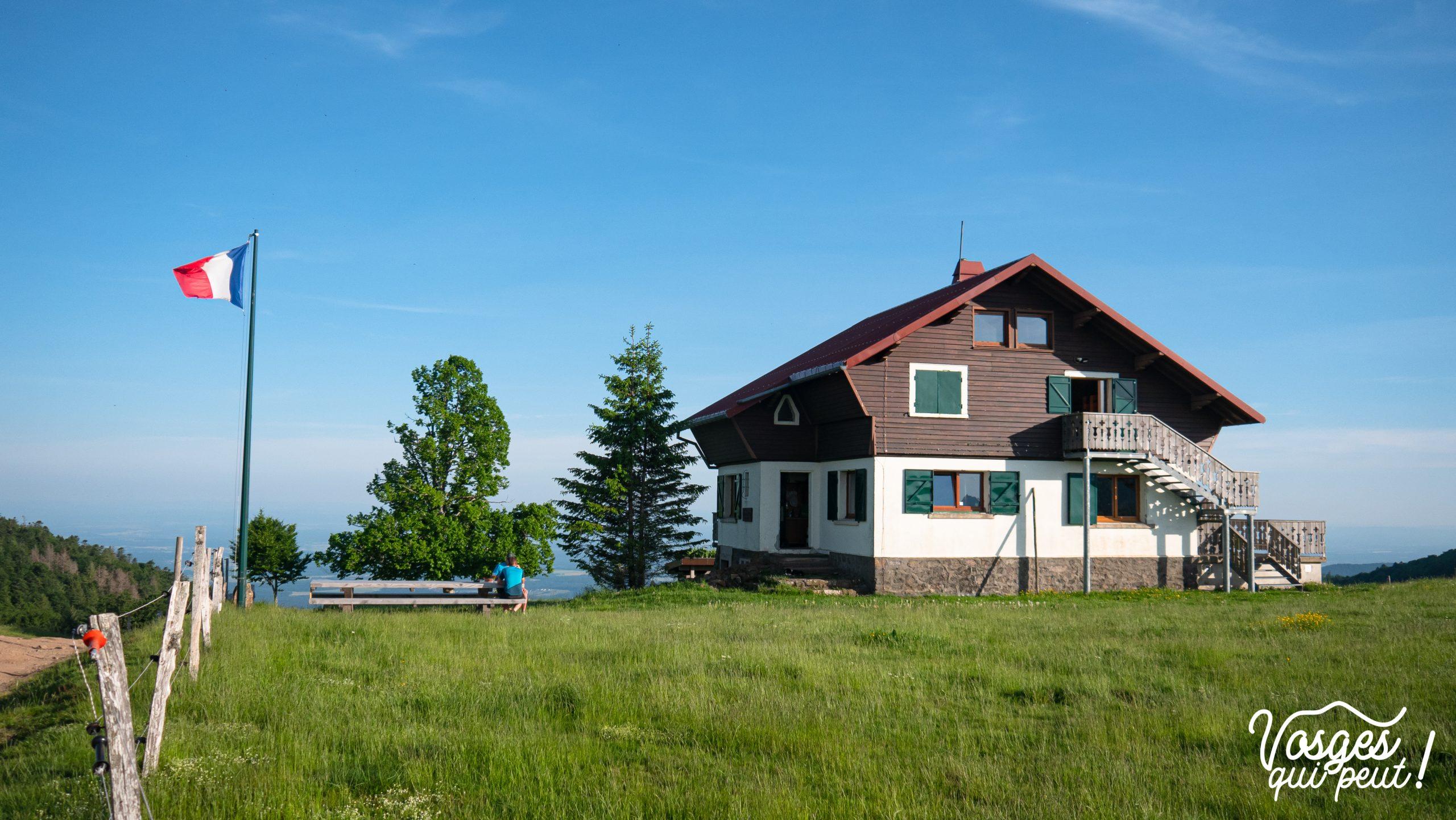 Refuge pour randonneurs dans le Massif des Vosges