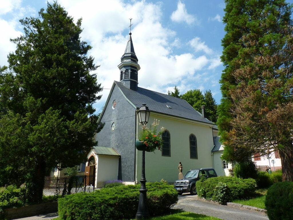 La chapelle du Hohwald dans le Massif des Vosges